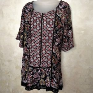 Light Tunic Top by Cato Like New L